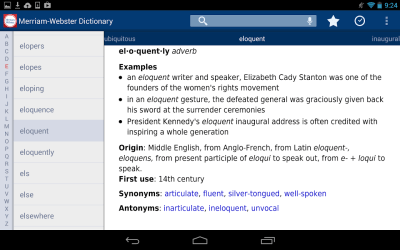 Look It Up, Merriam-Webster: full version free software download - backupnd