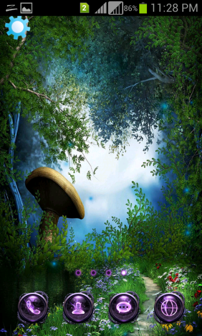 Magical World Fireflies Touch Live Wallpaper - Android Apps on Google Play