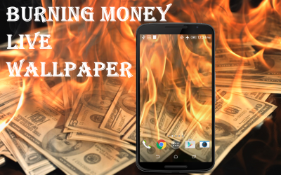 Burning Money Live Wallpaper - Android Apps on Google Play