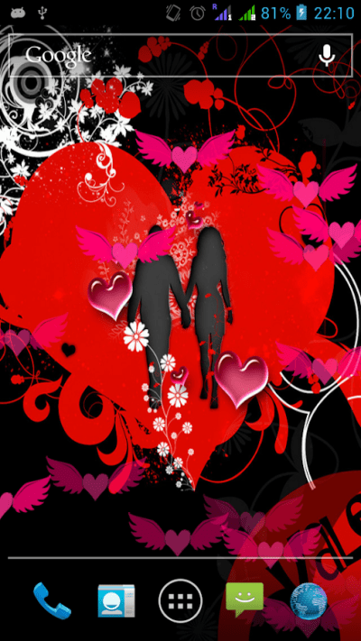 Valentine Love Live Wallpaper Free - Android Apps on Google Play