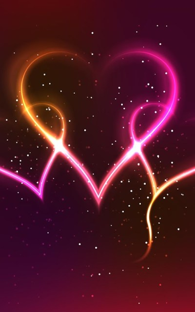 Neon Hearts Live Wallpaper - Android Apps on Google Play