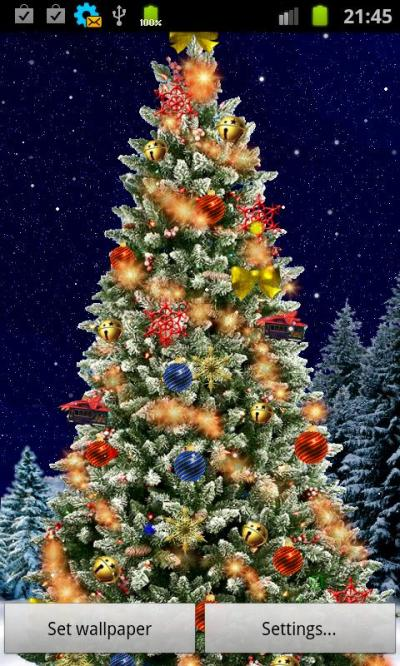Christmas Tree Live Wallpaper - Android Apps on Google Play