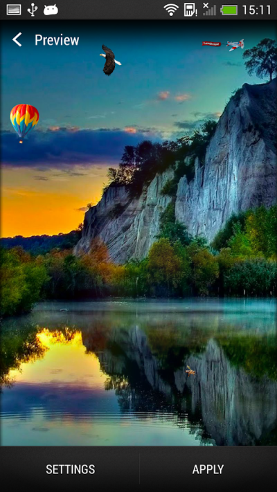 Nature Live Wallpaper - Android Apps on Google Play