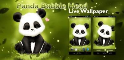 Panda Bobble Live Wallpaper v1.2 - Descargar Gratis