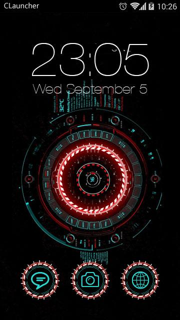 Futuristic C Launcher Theme - Android Apps on Google Play