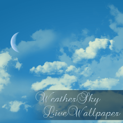 Weather Sky Live Wallpaper 2.03 + (AdFree) APK for Android