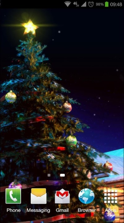 Christmas 3D Live Wallpaper - Android Apps on Google Play