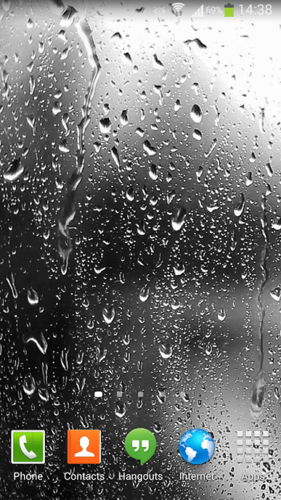 Raindrops Live Wallpaper HD 8 - Android Apps on Google Play