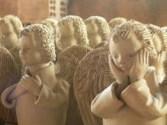 Artesanatos de anjinhos em gesso