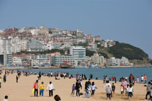 visiting haeundae beach busan