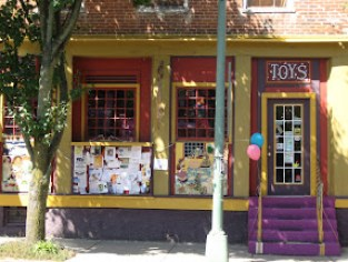 Toy store on Xenia Ave