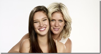Rachel Hunter and Renee Stewart for Pantene