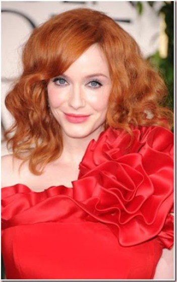 Christina Hendricks-Golden Globes