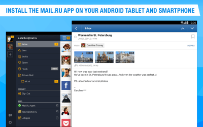 Mail.Ru - Email App - Android Apps on Google Play