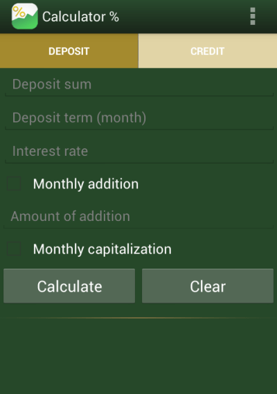Loan deposit calculator - Android Apps on Google Play