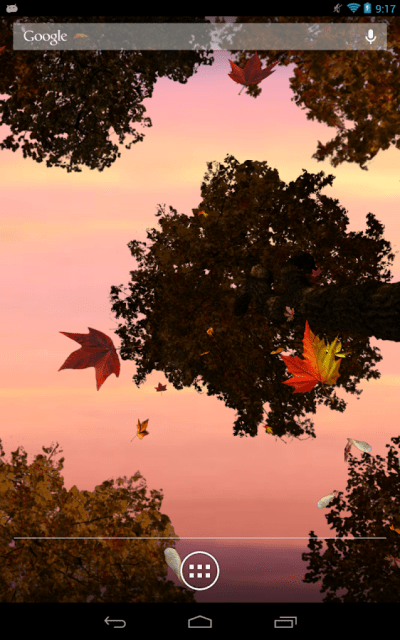 Falling Leaves Live Wallpaper - Android Apps on Google Play