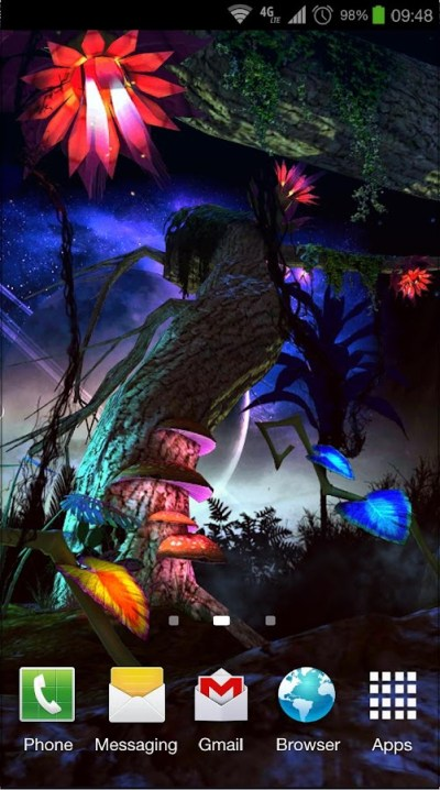 Alien Jungle 3D Live Wallpaper - Android Apps on Google Play