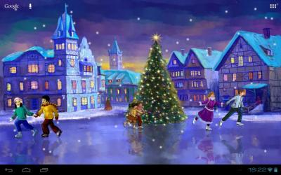 Christmas Rink Live Wallpaper - Android Apps on Google Play
