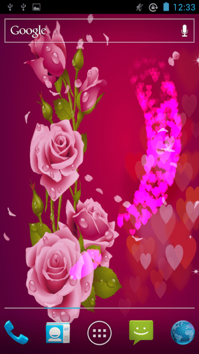 Love Rose Live Wallpaper - Android Apps on Google Play