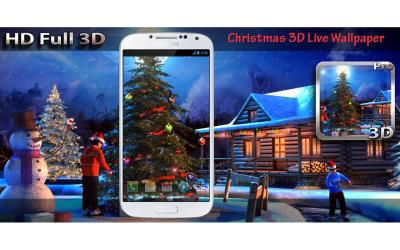 Christmas 3D Live Wallpaper - Android Apps on Google Play