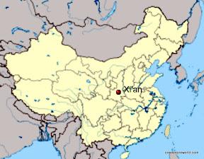 Xi'an map