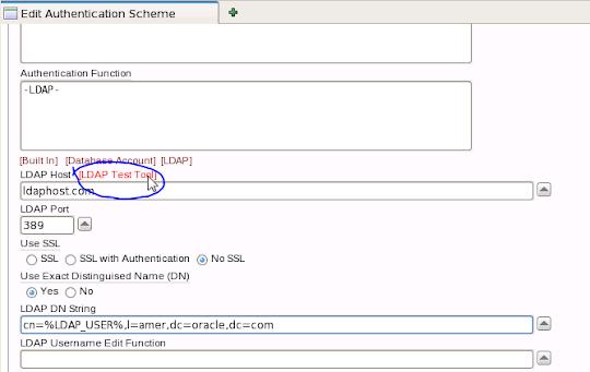 LDAP Test Tool