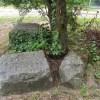 fragmenty pomnika pierwszowojennego w Wielgowie