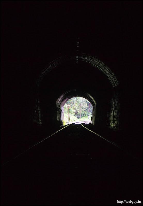 A tunnel en-route - Doodhsagar Trek