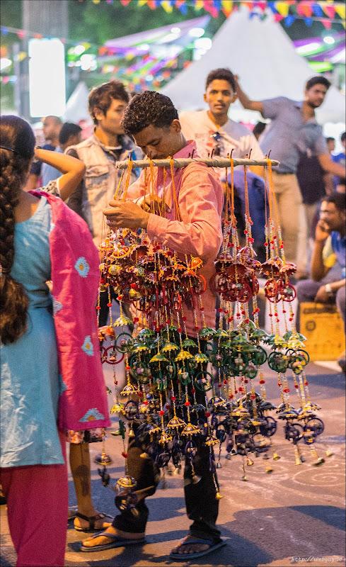 Beautiful jhoomars - Open Streets, Bangalore