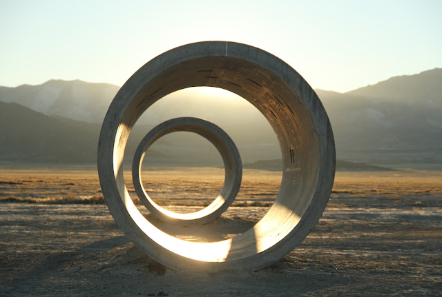 Nancy Holt's Sun Tunnels Fall 2015