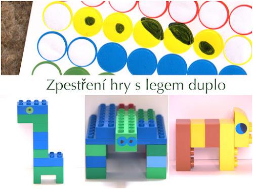 Hraní s Lego duplo
