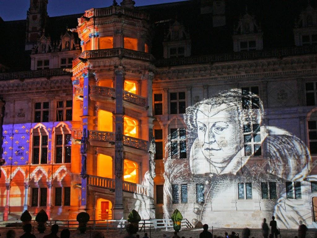 chateau-royal-de-Blois-Son-et-Lumiere-blois©DLEPISSIER