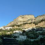 We travel back toward Bomerano, where we started the Sentiero Degli Dei