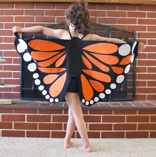 Motýlí křídla karnevalová maska