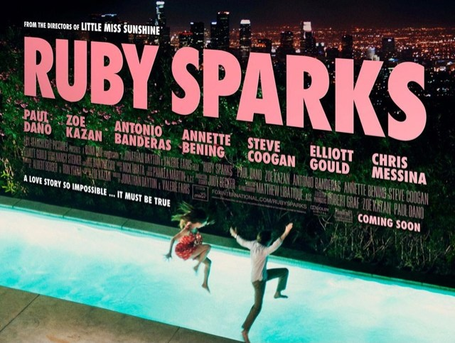 Ruby Sparks movie poster, Zoe Karzan, Paul Dano