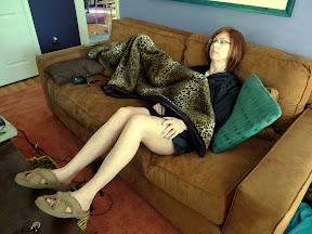 Jealous boys?  I live with a sleepwear model.