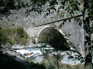 Bridge over river Bendola