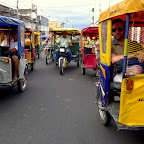Iquitos is a city of motorcycles.