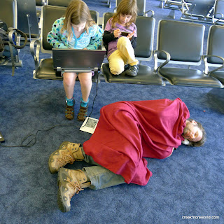 Passed out at Miami AIrport