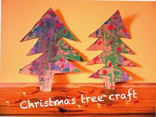 Tvoření s dětmi vánoční stromeček