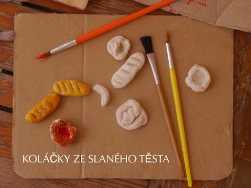 Pečivo pro děti na hraní DIY
