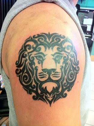 picture of lion tattoos