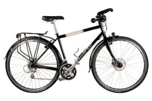 Vivente World Randonneur - Fully equipped steel touring bike - mudguards, CrMo Rack, Dynamo Hub, Trekking Bars -  $1750