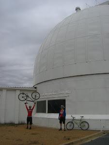 Stromlo Observatory - Bike lift..