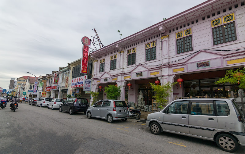 The beautiful buildings of Georgetown, Penang
