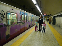 Metro graffiti looks like NYC in the 70's
