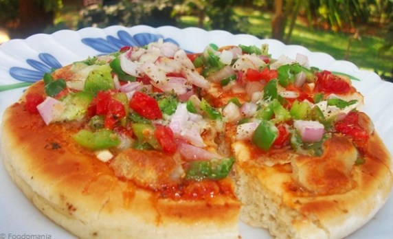 Garden Fresh Pizza Recipe
