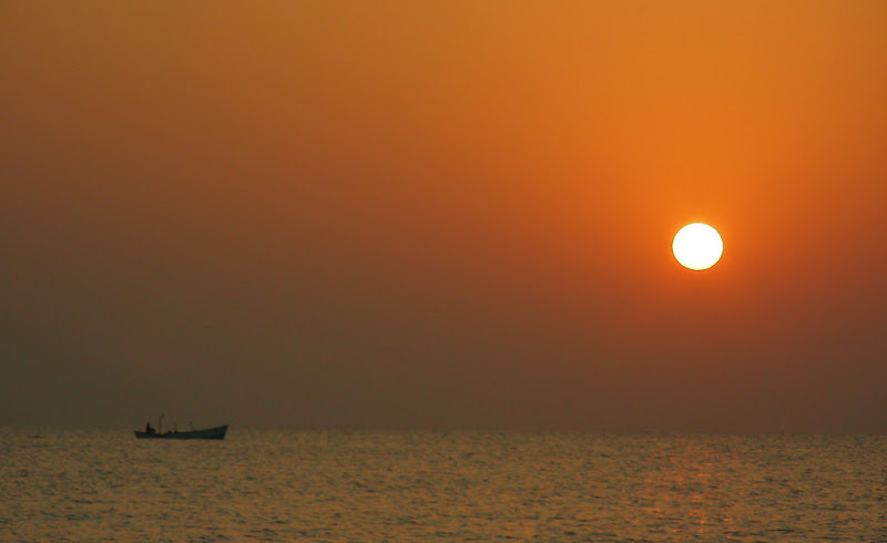Sunset at Diu