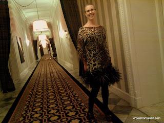 Hotel Monaco's fantastic hallways
