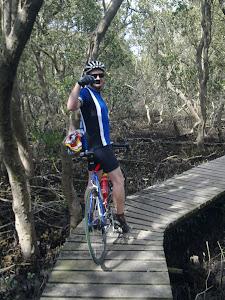 Adam - Lane Cove boardwalk mangrove ride